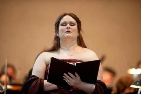 Barbara Quintiliani performs Verdi's Requiem, a signature work in her repertoire. in Scottsdale, Ariz.